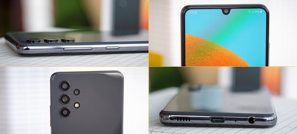 طراحی و ساخت گوشی موبایل سامسونگ A32